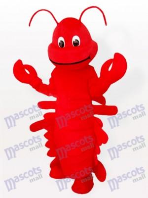 Costume drôle de mascotte adulte d'océan rouge de homard de bande dessinée de bande dessinée