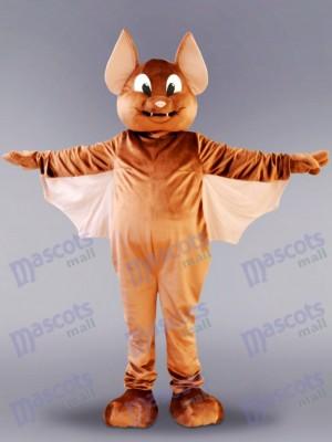 Brown Flying Bat Mascot Costume