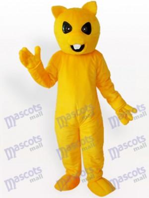 Ours jaune Costume de mascotte animale