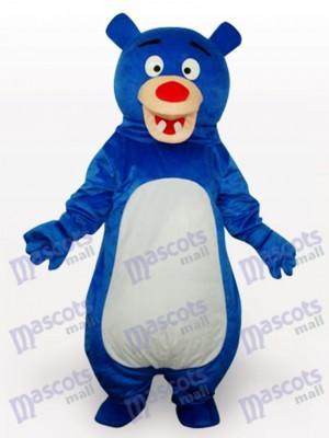 Déguisement drôle de mascotte anime de l'ours bleu