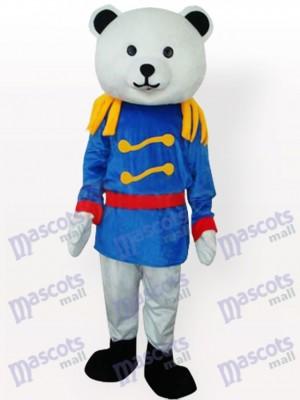 Costume de mascotte adulte général ours ourson