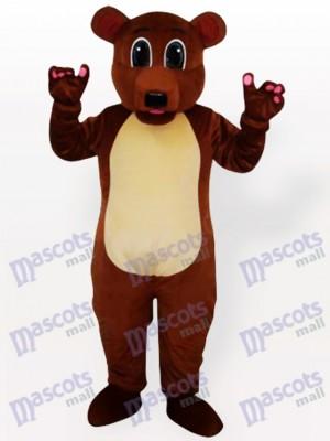 Costume de mascotte adulte ours brun
