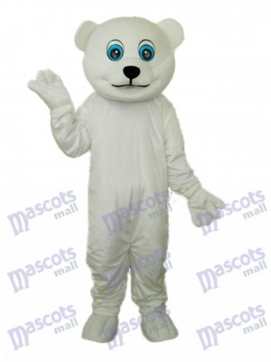 Petit Costume Mascotte Ours Polaire Animal