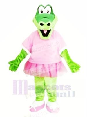 Belle Alligator Mascotte Les costumes Alligator Pour Adulte