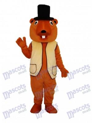 Costume de mascotte castor adulte