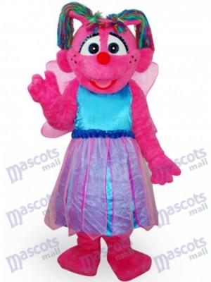Costume de mascotte en peluche pour fille de papillon