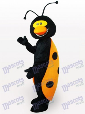 Costume de mascotte adulte insecte coccinelle