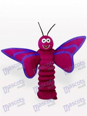 Costume de mascotte adulte insecte papillon violet