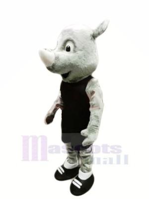 Meilleur Qualité Rhinocéros Mascotte Les costumes Animal