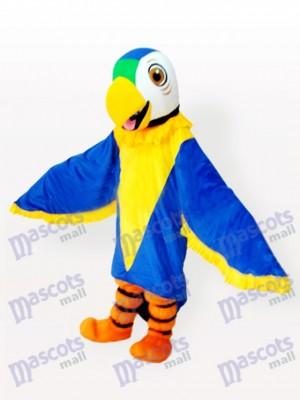 Costume drôle de mascotte d'oiseau de perroquet