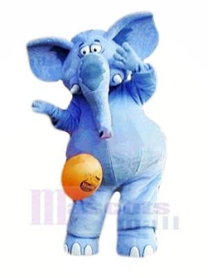 Fort Bleu l'éléphant Mascotte Les costumes Animal
