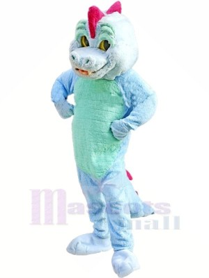 Bleu la magie Dragon Mascotte Les costumes Animal