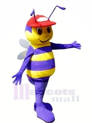 Garçon abeille avec rouge Chapeau Mascotte Les costumes Animal