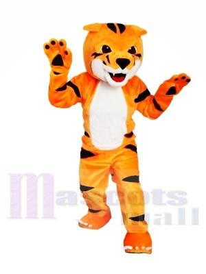 Beau tigre Costume de mascotte Pour Noël