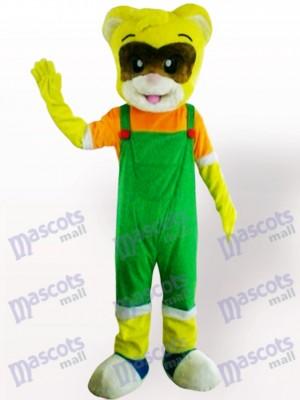 Costume de mascotte adulte animal chat mâle