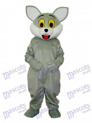 Costume de mascotte de chat gris Animal