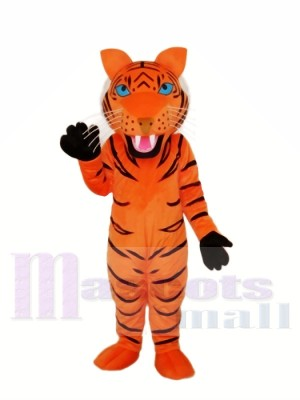 Tigre brun rouge Mascot Costume Adulte Livraison gratuite