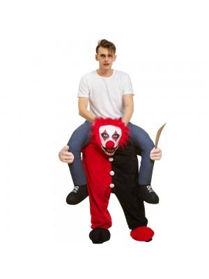 Horrible Pitre Porter moi Balade sur Halloween Noël Costume pour Adulte