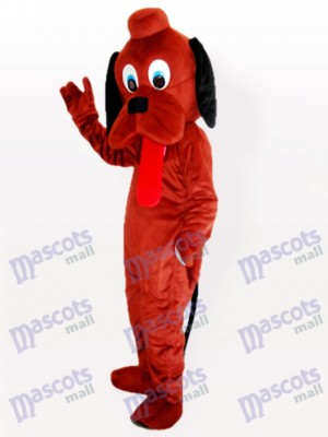 Hey Dog Costume de mascotte adulte marron