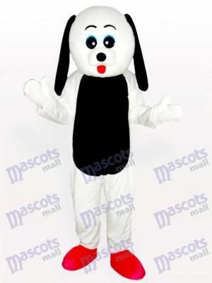 Costume de mascotte adulte noir ventre de chien