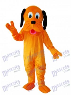 Déguisement Mascotte de Chien Orange Animal