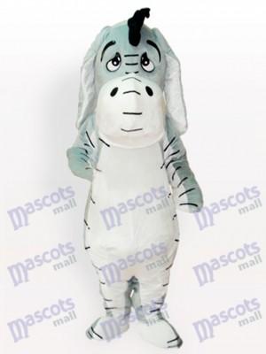 Costume de mascotte adulte âne grise