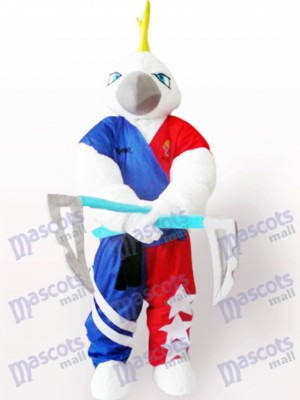 Muscle Costume de mascotte adulte aigle