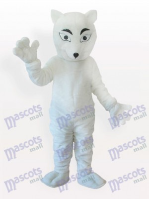 Costume de mascotte adulte Fox blanc polaire