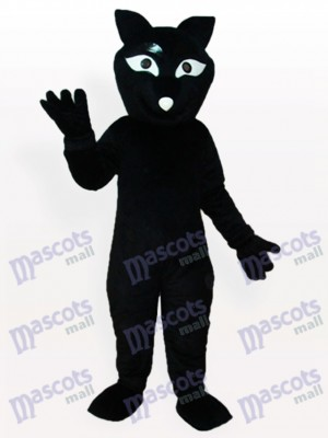 Costume de mascotte adulte renard noir