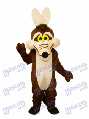 Costume de mascotte renard marron Animal