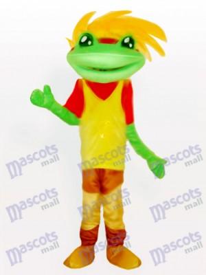 Costume de mascotte Prince grenouille