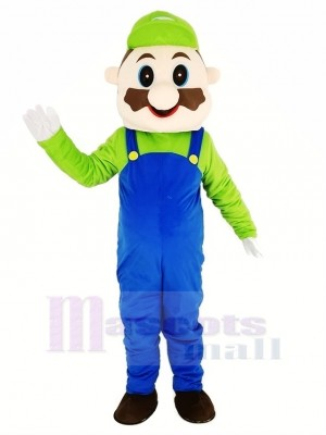 Super Mario Bros Mascotte Costume Adulte