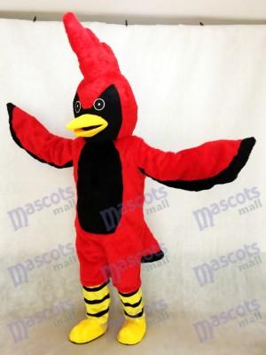 Costume de mascotte adulte Aigle Rouge