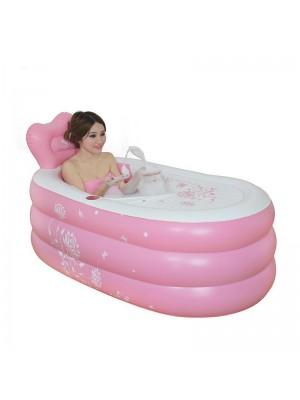 Gonflable Portable Une baignoire Baril Baignoire Pliant Épaississant Chaud En gardant