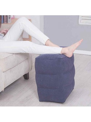 3 Couches Gonflable Portable Voyage Repose pieds Oreiller