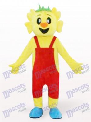 Costume de mascotte Koala pour les cheveux orange