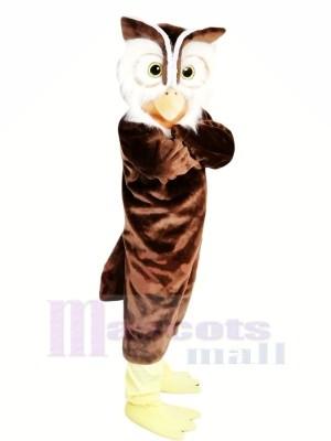 Haute Qualité Hibou Mascotte Les costumes Dessin animé