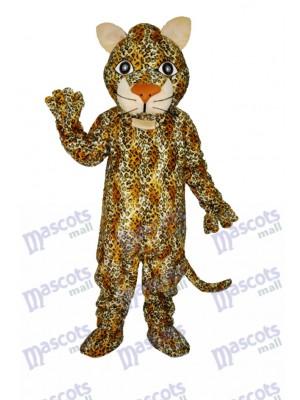 Costume de mascotte adulte panthère