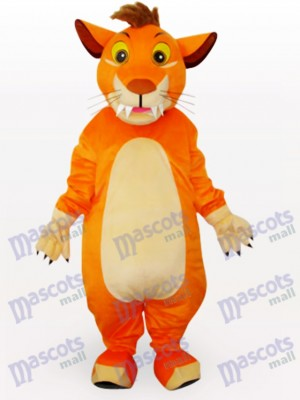 Costume de mascotte animal lion