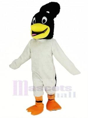 Noir Tête Roadrunner Oiseau Mascotte Costume Animal