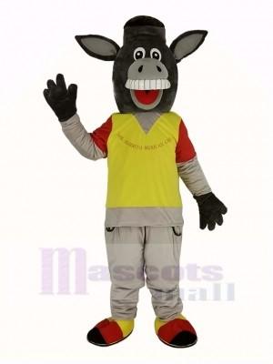 Drôle Martin la Âne Mascotte Costume