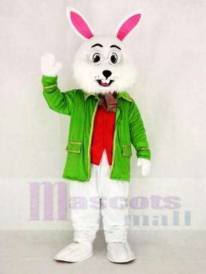 Réaliste Wendell vert Pâques lapin Mascotte Costume Dessin animé