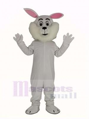 blanc Pâques lapin Mascotte Costume