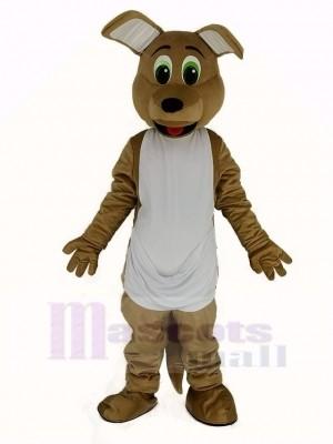 Foncé bronzer Kangourou Mascotte Costume