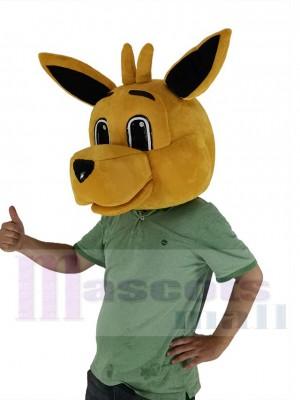 Kangourou costume de mascotte