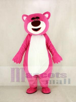 Rose Ours Mascotte Costume Dessin animé