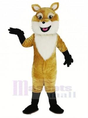 marron Renard Mascotte Costume Animal
