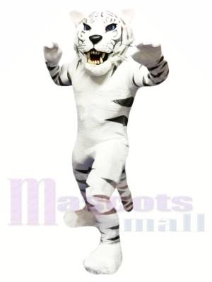 tigre blanc Costume de mascotte Livraison gratuite