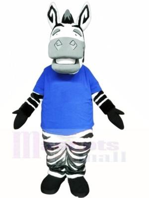 Zèbre léger mignon Costumes De Mascotte