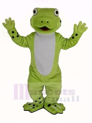 Mignon Heureux La grenouille Mascotte Costume